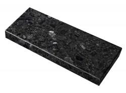 Parapet granitowy czarny -...