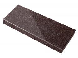Parapet granitowy brązowy -...