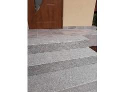 Stopnie schodowe granitowe